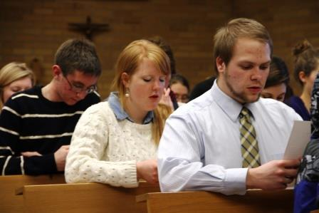 More than 300 students at Benedictine College will consecrate themselves to Mary in this year of the college's consecration to the Blessed Mother.
